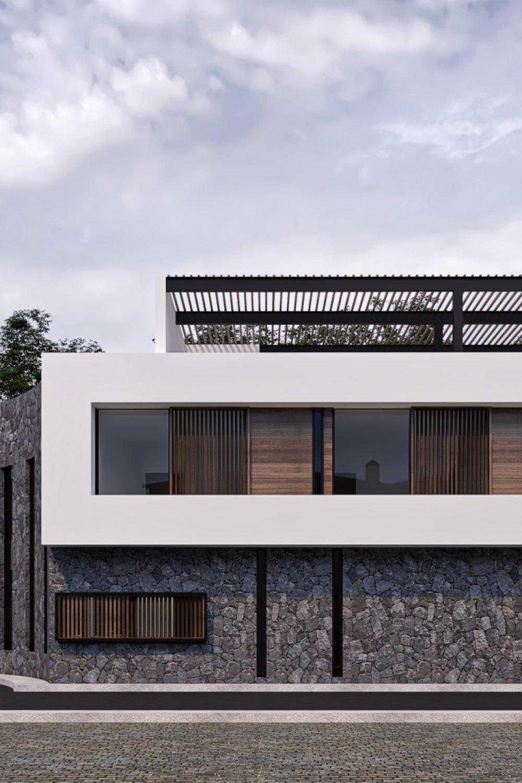 Casa Alvirde - Fachada Frontal 02
