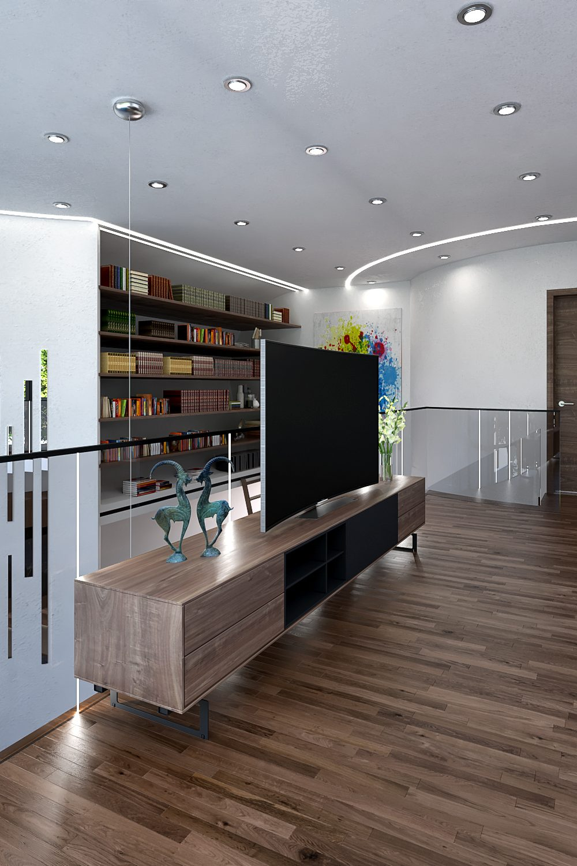 GLE Arquitectura - Casa Loera Biblioteca