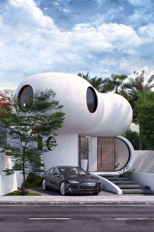 GLE Arquitectura - Casa Loera Fachada Principal 02