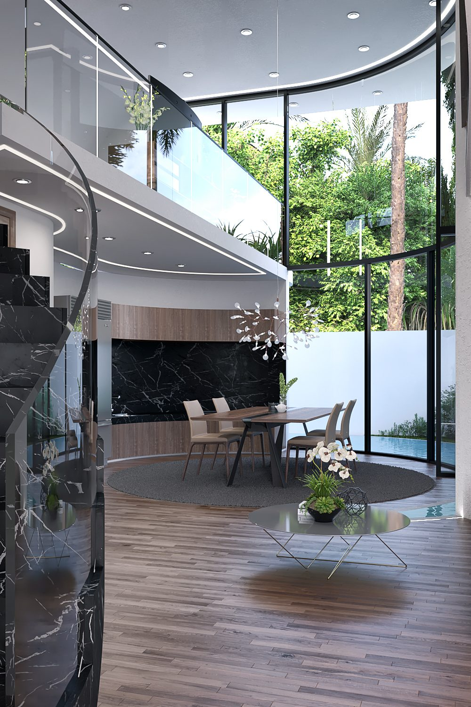GLE Arquitectura - Casa Loera Ingreso