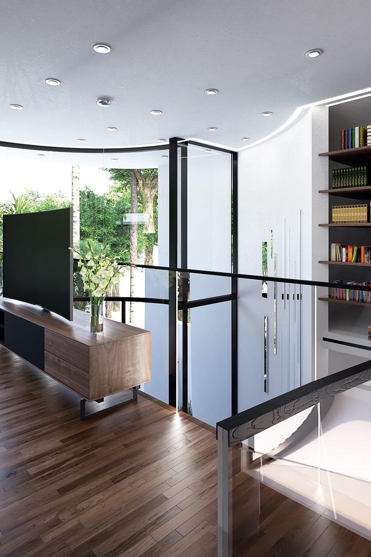 GLE Arquitectura - Casa Loera Sala TV