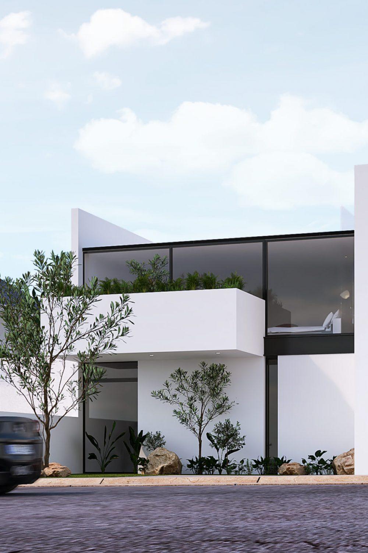 GLE Arquitectura - Romero - Fachada Perspectiva