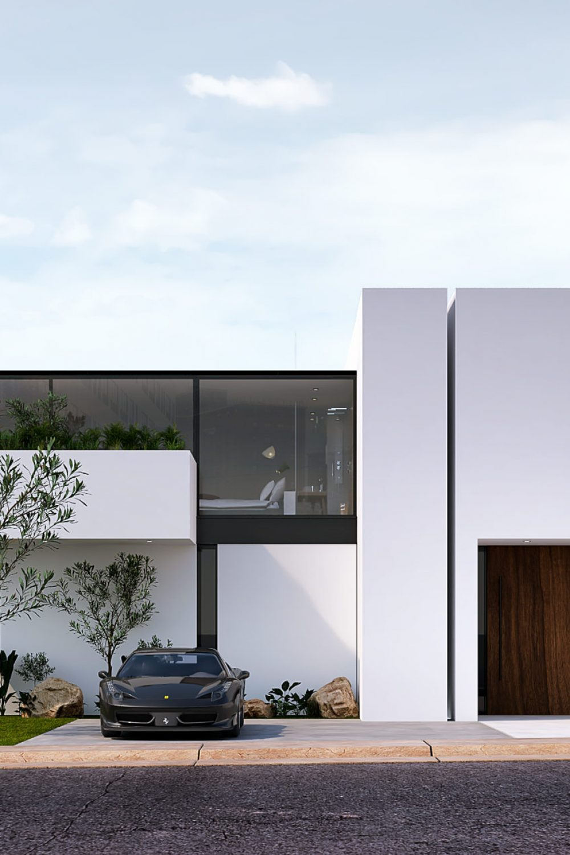 GLE Arquitectura - Romero - Fachada Principal SL