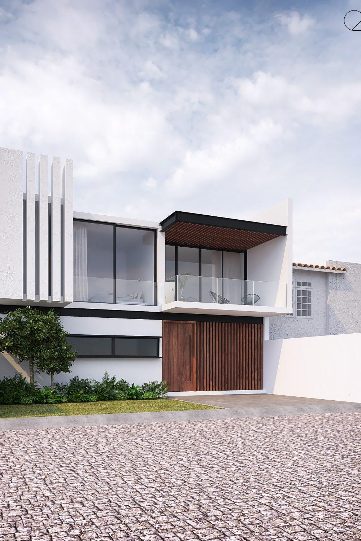 Residencia Landazuri Perspectiva - GLE Arquitectura